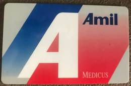 BRAZIL (2) CARD MEDICAL ASSISTANCE - AMIL - 07/1997 - Credit Cards (Exp. Date Min. 10 Years)