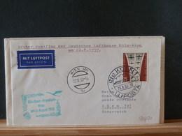 76/211  1° VOL LUFTHANSA    1959 - BRD
