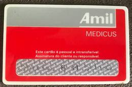 BRAZIL CARD MEDICAL ASSISTANCE - AMIL - Credit Cards (Exp. Date Min. 10 Years)