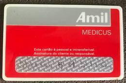 BRAZIL CARD MEDICAL ASSISTANCE - AMIL - Geldkarten (Ablauf Min. 10 Jahre)