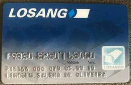BRAZIL LOSANGO CREDIT CARD - 05/1999 - Credit Cards (Exp. Date Min. 10 Years)