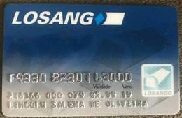 BRAZIL LOSANGO CREDIT CARD - 05/1999 - Geldkarten (Ablauf Min. 10 Jahre)
