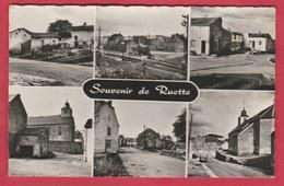 Ruette - Souvenir De ... - Carte Mulivues  - 1960 ( Voir Verso ) - Virton