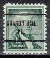 USA Precancel Vorausentwertung Preo, Locals Pennsylvania, Sharon Hill 713 - Vereinigte Staaten