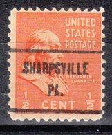 USA Precancel Vorausentwertung Preo, Locals Pennsylvania, Sharpsville 719 - Vereinigte Staaten