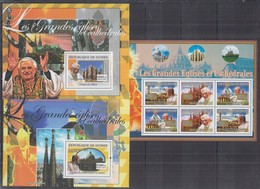 D13. Guinee - MNH - Famous People - Pope - 2007 - Famous People