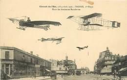 AVIATION - CIRCUIT DE L'EST .DESTOCKAGE DEBARRAS SUR LE STOCK -  Troyes 1er ETAPE N° 315383 - Andere