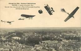 AVIATION - CIRCUIT DE L'EST . TROYES 1er ETAPE N° 315381 - Andere