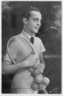 IMMAGINE  DI UN  TENNISTA  DA  IDENTIFICARE   1938       (NUOVA) - Tennis