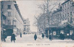 Genève : Place Du Molard - Publicité Champagne Mercier - Carte Précurseur - GE Genève