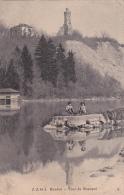 Genève : Tour De Champel - Jeunes Gens Sur La Digue - 1905 - GE Genève