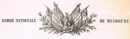 Mulhouse 1848 Garde Nationale Héraldique - Documentos Históricos