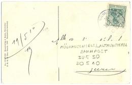 ALSACE-LORRAINE TàD FERROVIAIRE MÜLHAUSEN (ELS) - ALTMUNSTEROL BANHPOST ZUG 50  Du 20-5-10 - Alsace Lorraine