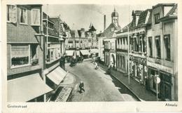 Almelo 1957; Grotestraat - Gelopen. (Vroom & Dreesmann - Almelo) - Almelo