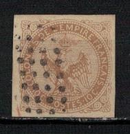 EMISSIONS GENERALES     N°  YVERT  3   ( 5 )          OBLITERE       ( O   3/17 ) - Águila Imperial