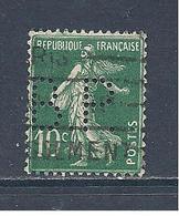 Y Et T  N°  159   Perforé   B. P.  158  Ind  7 (slo) - France