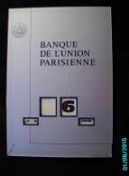 CAL1  P0594   CALENDRIER  PERPETUEL  BANQUE UNION PARISIENNE  34x22  Par GERRER MULHOUSE 1970 PLEXIGLASS - Calendars