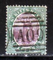 Saint Christophe 1905 Yvert 33 (o) B Oblitere(s) - St.Christopher-Nevis-Anguilla (...-1980)