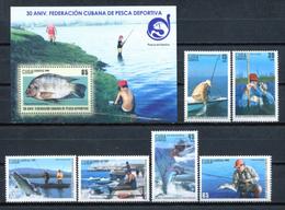 Cuba 2009 / Fish Fishing MNH Peces Pesca Fische / Cu8512  C3 - Peces