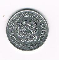 POLEN  10 GROSZY  1969 - Polonia