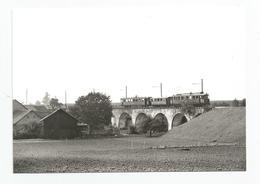 Suisse Vaud Cpm Train Pour St Cergue Sur Le Viaduc De L'asse 1963 - VD Vaud
