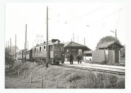 Suisse Vaud Cpm Gare Trelex Pour St Cergue 1963 - VD Vaud