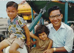 Carte 1965 ILES GILBERT / TYPE DE FAMILLE EVOLUEE - Micronesië