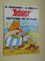 STR14 : Album Souple Publicitaire TOTAL De 1992  ASTERIX HISTOIRE DE VOYAGES Format A4 , TB état - Astérix