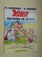 STR14 : Album Souple Publicitaire TOTAL De 1992  ASTERIX HISTOIRE DE SPORTS Format A4 , TB état - Astérix