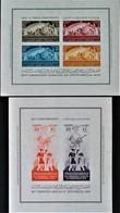 ROYAUME - 16 EME EXPO HORTICOLE AU CAIRE 1949 - NEUFS ** - YT BL 2/3 - MI BL 2/3 - RARES EN NEUF ** !! - Egypt