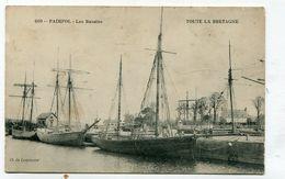 CPA  22 :  PAIMPOL   Les Bassins Avec Voiliers  VOIR  DESCRIPTIF  §§§ - Paimpol