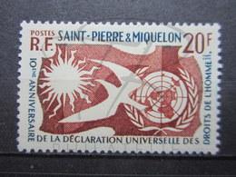 VEND BEAU TIMBRE DE S.P.M. N° 358 , X !!! - St.Pierre Et Miquelon