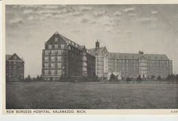 CPA - NEW BORGESS HOSPITAL -  KALAMAZOO - MICH - A 397 - Etats-Unis