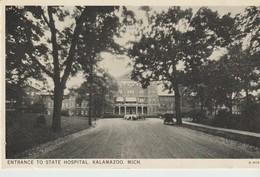 CPA - ENTRANCE TO STATE HOSPITAL -  KALAMAZOO - MICH - A 416 - Etats-Unis