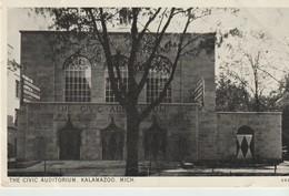 CPA - THE CIVIC AUDITURIUM -  KALAMAZOO - MICH - A 692 - Etats-Unis