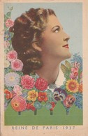 Paris : Reine De Paris 1937 : Carte Publicitaire : ( Le Paysan ) - Other
