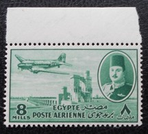 ROYAUME - POSTE AERIENNE 1947 - NEUF ** - YT PA 33 - MI 309 - HAUT DE FEUILLE - Egypt