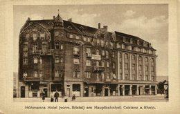 Coblenz A. Rh., Höhmanns Hotel Am Hauptbahnhof - Koblenz
