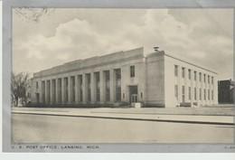 CPA - PHOTO - U. S. POST OFFICE - LANSING - MICH - C 400 - WAYNE - Lansing