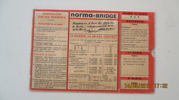 NORMA-BRIDGE / PLAQUETTE A SYSTEME - Autres