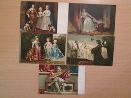 Vintage Fine Art Postcards Stengel & Co Dresden - Paintings