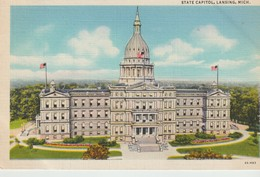 CPA - STATE CAPITOL - LANSING - MICH - 4A-H83 - CURT TEICH - Lansing