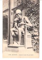 Histoire De France-Bourges-Hôtel Cujas-Statue De Louis XI (1423-1483), Par Baffier - Histoire