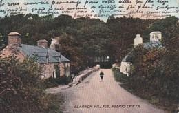 Carte 1907 ABERYSTWITH OU ABERYSTWYTH / CLARACH VILLAGE - Pays De Galles