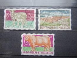 VEND BEAUX TIMBRES DE S.P.M. N° 407 - 409 , XX !!! - St.Pierre Et Miquelon