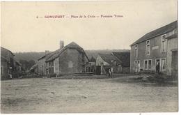 Goncourt - Place De La Croix - Fontaine Triton - Francia