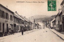 V13980 Cpa 90 Giromagny - Rue Thiers - Giromagny