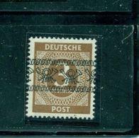 Bizone, Posthörnchenbandaufdruck Auf Ziffernserie, Nr. II/I Postfrisch**, Altgeprüft - Bizone