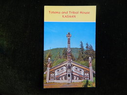 TOTEMS AND TRIBAL HOUSE KASAAN - R15068 - Indiens De L'Amerique Du Nord