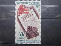 VEND BEAU TIMBRE POSTE AERIENNE DE S.P.M. N° 37 , X !!! - Poste Aérienne